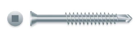 10000 #6 X 1 Drywall Screw Phillips Bugle Head Coarse Thread Dacrotized Type-17 Point Bulk Box