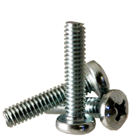 Pan Head #10-24 Threads Pack of 100 Steel Machine Screw 3//4 Length 3//4 Length Small Parts B000MN4UIS Phillips Drive Zinc Plated Finish